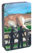 Dinosaur Country Portable Battery Charger