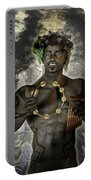 Dionysus God Of Grape Portable Battery Charger