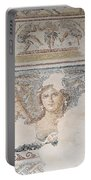 Dionysus Mosaic Mona Lisa Of The Galilee Portable Battery Charger
