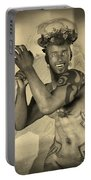 Dionysus Sepia Old Portable Battery Charger