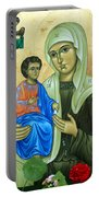 Discalced Carmelite Painting Portable Battery Charger