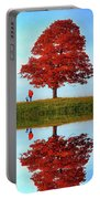 Discovering Autumn - Reflection Portable Battery Charger