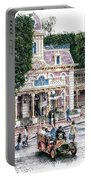 Disneyland Fire Truck Pa 03 Vertical Portable Battery Charger