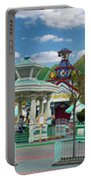 Disneyland Toontown Young Man Proposing To His Lady Panorama Portable Battery Charger