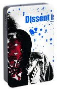 Dissent Is Patriotic Portable Battery Charger