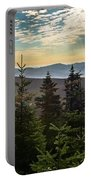 Distant Mountains To The East Portable Battery Charger