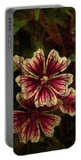 Distinctive Blossoms Portable Battery Charger