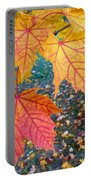 Distinctive Maple Leaves Portable Battery Charger