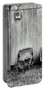 Distressed Building B Portable Battery Charger