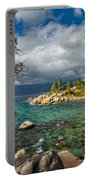 Divers Cove At Lake Tahoe Portable Battery Charger