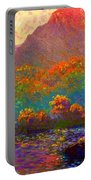 Buddha Meditation, Divine Light Portable Battery Charger