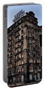 Divine Lorraine Hotel Portable Battery Charger by Bill Cannon