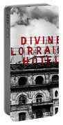 Divine Lorraine Hotel Marquee Portable Battery Charger