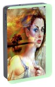 Divine Sunset Portable Battery Charger