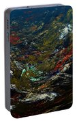 Diving The Reef Series - Sea Floor Abstract Portable Battery Charger