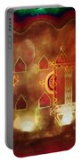 Diwali Card Lamps And Murals Blue City India Rajasthan 2h Portable Battery Charger