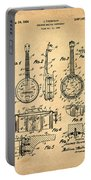 Dixie Banjolele Patent 1954 In Sepia Portable Battery Charger