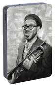 Dizzy Gillespie Vintage Jazz Musician Portable Battery Charger