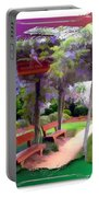 Do-00011 Wisteria Walk Portable Battery Charger