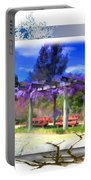 Do-00013 Wisteria Branches Portable Battery Charger