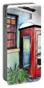 Do-00091 Telephone Booth In Morpeth Portable Battery Charger