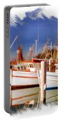 Do-00096 Boats In Nelson Bay Early 90s Portable Battery Charger