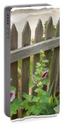 Do-00099 Fence-flowers Portable Battery Charger