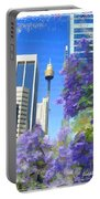 Do-00106 Spring In Sydney Portable Battery Charger