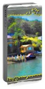 Do-00243 Houses On Brisbane Water Portable Battery Charger