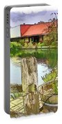Do-00251 A Farm In Hunter Valley Portable Battery Charger