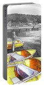 Do-00279 Yellow Boats Portable Battery Charger