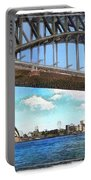 Do-00284 Sydney Harbour Bridge And Opera House Portable Battery Charger