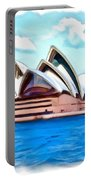 Do-00293 Sydney Opera House Portable Battery Charger