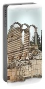 Do-00306 Old Ruins In Anjar Portable Battery Charger