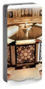 Do-00323 Old Bath Fountain Portable Battery Charger