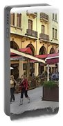 Do-00352 Downtown Coffee Shops Portable Battery Charger
