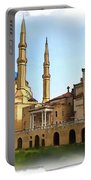 Do-00362al Amin Mosque And St George Maronite Cathedral Portable Battery Charger