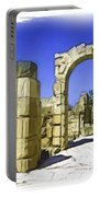 Do-00407 Roman Portico In Tyr Portable Battery Charger