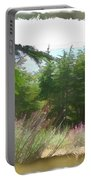 Do-00451 Cedar Trees Forest Portable Battery Charger