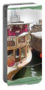 Do-00475 Old Boats Portable Battery Charger