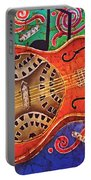 Dobro - Slide Guitar Portable Battery Charger