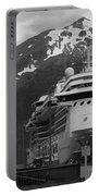 Dockside In Skagway Portable Battery Charger