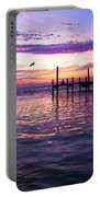 Dockside Sunset Portable Battery Charger