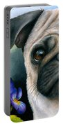 Dog #133 Portable Battery Charger