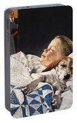 Dog Food Ad, 1956 Portable Battery Charger