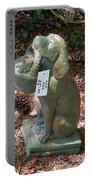 Dog Garden Statues Portable Battery Charger