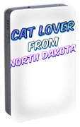 Dog Lover From North Dakota Portable Battery Charger