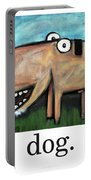Dog Poster Portable Battery Charger