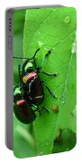 Dogbane Beetles Portable Battery Charger