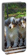 Dogs. Let Us Out #2 Portable Battery Charger